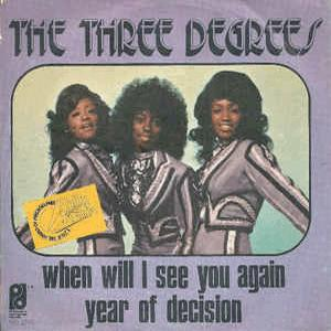 The Three Degrees- When will I see you again