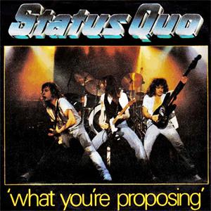 Status Quo - What you re proposing