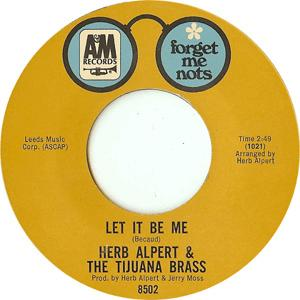 Herb Alpert and The Tijuana Brass - Let it be me