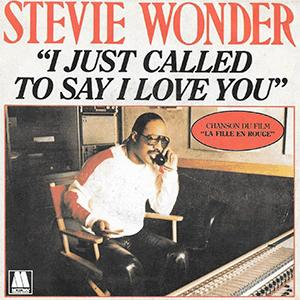 Stevie Wonder - I just called to say I love You.