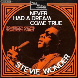 Stevie Wonder - Never had a dream come true